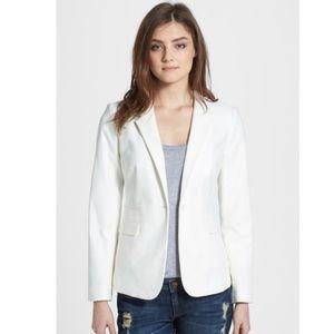 Vince Camuto stretch cotton blazer